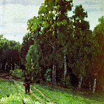 Apollinaris M. Vasnetsov - forest paths. Abramtzevo. 1885