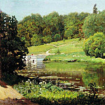 Apollinaris M. Vasnetsov - Ohtyrka. View estate. 1894