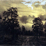Night. Ural, Apollinaris M. Vasnetsov