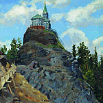 Apollinaris M. Vasnetsov - Mount Grace. 1890