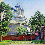 Apollinaris M. Vasnetsov - Trinity Church on Bersenevke. 1922