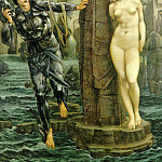 Perseus Series: The Rock of Doom, Sir Edward Burne-Jones