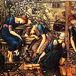 Briar Rose, Garden Court, Sir Edward Burne-Jones