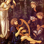 The Madness Of Sir Tristram, Sir Edward Burne-Jones