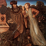 King Mark and La Belle Iseult, Sir Edward Burne-Jones