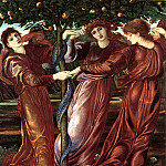 The Garden Of The Heserides, Sir Edward Burne-Jones