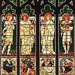 Christ Church Oxford The Vyner memorial window, Sir Edward Burne-Jones