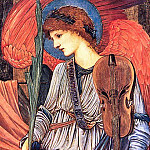 Musical Angels, Sir Edward Burne-Jones