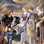 Perseus and the Sea Nymphs , Sir Edward Burne-Jones