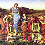 The Mirror of Venus, Sir Edward Burne-Jones