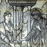 Jesus and Woman at the Well, Sir Edward Burne-Jones