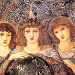 Days of Creation The 3rd Day, Sir Edward Burne-Jones
