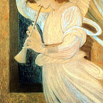 Angel , Sir Edward Burne-Jones