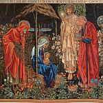 Adoration of the Magi , Sir Edward Burne-Jones