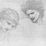 Hollyer Burne-Jones Study for Masque of Cupid, Sir Edward Burne-Jones