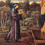 The Pilgrim at the Gate of Idleness, Sir Edward Burne-Jones