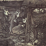 Burne-Jones ten virgins, Sir Edward Burne-Jones