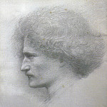 Paderewski by Burne-Jones, Sir Edward Burne-Jones