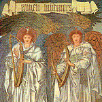 Angeli Laudantes, Sir Edward Burne-Jones