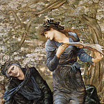 Beguiling of Merlin, Sir Edward Burne-Jones