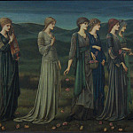 The Wedding of Psyche, Sir Edward Burne-Jones