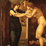 The Godhead Fires, Pygmalion, Sir Edward Burne-Jones