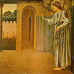 The Annunciation-The Angel, Gabriel, Sir Edward Burne-Jones