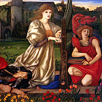 Burne Jones Le Chant d-Amour , Sir Edward Burne-Jones