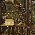 The Merciful Knight, Sir Edward Burne-Jones