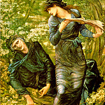 The Beguiling of Merlin by Edward Burne-Jones, Sir Edward Burne-Jones