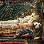 Briar Rose: Rose Bower , Sir Edward Burne-Jones
