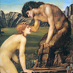Psyche and Pan, Sir Edward Burne-Jones