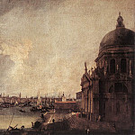 Canaletto (Giovanni Antonio Canal) - Entrance To The Grand Canal Looking East