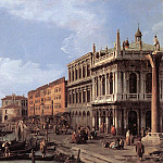 The Molo Looking West, Canaletto (Giovanni Antonio Canal)