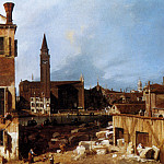 Stonemasons Yard, Canaletto (Giovanni Antonio Canal)