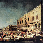 Arrival of the French Ambassador in Venice, Canaletto (Giovanni Antonio Canal)