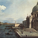 The Grand Canal at the Salute Church, Canaletto (Giovanni Antonio Canal)