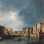 The Grand Canal From Rialto Toward The North, Canaletto (Giovanni Antonio Canal)