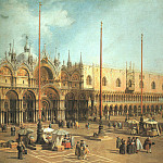 Piazza San Marco Looking Southeast, Canaletto (Giovanni Antonio Canal)