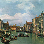The Grand Canal and the Church of the Salute, Canaletto (Giovanni Antonio Canal)