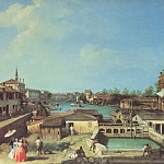 Dolo on the Brenta, Canaletto (Giovanni Antonio Canal)