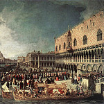Reception Of The Ambassador In The Doges Palace, Canaletto (Giovanni Antonio Canal)