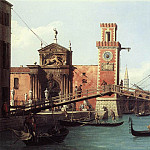 View Of the Entrance To The Arsenal, Canaletto (Giovanni Antonio Canal)