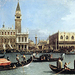 Canaletto Return of the Bucentaurn to the Molo on Ascension Day, Canaletto (Giovanni Antonio Canal)