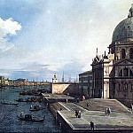 Canaletto The Grand Canal at the Salute Church, Canaletto (Giovanni Antonio Canal)