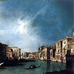 CANALETTO The Grand Canal From Rialto Toward The North, Canaletto (Giovanni Antonio Canal)