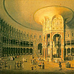 Canaletto (Giovanni Antonio Canal) - London- Ranelagh, the Interior of the Rotunda, 175