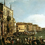 CANALETTO A Regatta On The Grand Canal, Canaletto (Giovanni Antonio Canal)