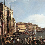 A Regatta On The Grand Canal, Canaletto (Giovanni Antonio Canal)