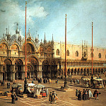 Canaletto Piazza San Marco Looking Southeast, Canaletto (Giovanni Antonio Canal)